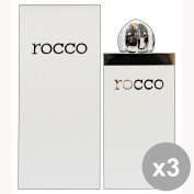Set of 3 ROCCOBAROCCO ROCCO WHITE Shower Man 250 Ml. Soaps and cosmetics