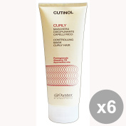 Set of 6 CUTINOL Professional CURLY Mask 200 Ml. Hair products
