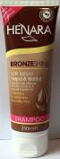 TWO PACKS of Henara Bronzeshine Shampoo 250ml