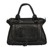 SILVIO TOSSI Women's Cross-Body Bag Black BLACK