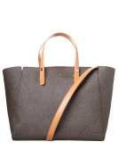 Borbonese Women's Top-Handle Bag brown marrone tundra