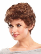 European and American popular fluffy short curly female wig synthetic high temperature wire short curly womens wigs