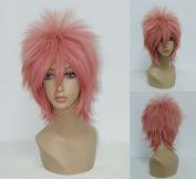 Women's Wig Cosplay Wig Ao no Exorcist Renzou Shima Pink 32 Cm