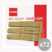 Set of 72 MUSTER & DIKSON clothespins Blondes * 12 pieces 11602 Professional Hair Products