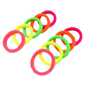 Da.Wa Mix Colours Women Girl Soft Elastic Hair Ties Bands Rope Ponytail Holders Hair Accessories