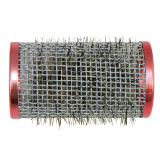 Hair Force Wire Winder with Brush 36 mm Pack of 12 Wire Winder Red Diameter 36 mm