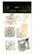 Teeliya® » 1 x Temporary Tattoos ✮ Body Sticker ✮ Assorted Colours ✮ Body Jewel ✮ Fashion Tattoo