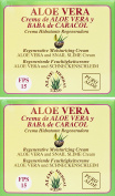 Aloe Herbal 2330 Regenerating Moisturising Cream Snail Baba and Aloe Vera 200 ml x pack of 2