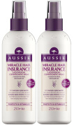 Aussie Lightweight Leave-In Conditioner Miracle Hair Insurance (pack of 2) 250ml each