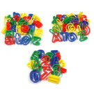 Educational Dough Cutters - Upper & Lowercase Letters, Numbers and Math Symbols