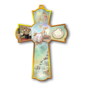 Religious, Inspirational and Catholic Gifts, baptism blessing, children's keepsake crosses, guardian angel, wall cross, 20cm