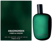 Comme des Garcons Amazingreen Eau de Parfum 1.7 Oz./50 ml New in Box
