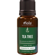 Tea Tree 100% Pure Therapeutic Grade Essential Oil by Viola Essentials - 15ml