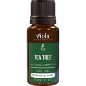 Tea Tree 100% Pure Therapeutic Grade Essential Oil by Viola Essentials - 15ml