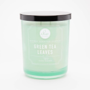 Green Tea Leaves Richly Scented Candle Small Single Wick Hand Poured From Dw ...