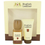 ENGLISH LEATHER by Dana Gift Set -- 100ml Cologne Splash + 70ml After Shave Balm