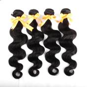 Yavida Brazilian Virgin Remy Human Hair Extension Weave 3 Bundles 300g Brazilian Body Wave Hair 16 16 16 41cm