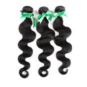 Yavida Brazilian Virgin Remy Human Hair Extension Weave 3 Bundles 300g Brazilian Body Wave Hair 10 10 25cm