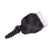 Ali AMY Brazilian Loose Wave Free Part Lace Closure 4 by 4 100% Brazilian Virgin Hair 36cm
