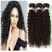 Brazilian Virgin Hair FEB'L FLEUR Hair Curly Wave Can be Dyed or Bleached