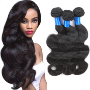 Superlove Brazilian Body Wave 3 Bundles Human Hair Bundles 7A Unprocessed Brazilian Hair Natural Colour