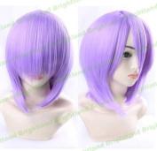 Flyingdragon Touhou Project Komeiji Satori Purple Cosplay Short Wig by FD