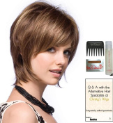 REESE Gradient by Noriko Wig, 15 Page Christy's Wigs Q & A Booklet, Wig Shampoo, Wig Cap & Wide Tooth Comb - Colour