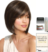 JOLIE by Noriko Wig, 15 Page Christy's Wigs Q & A Booklet, Wig Shampoo, Wig Cap & Wide Tooth Comb - Colour