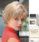 NORI by Noriko Wig, 15 Page Christy's Wigs Q & A Booklet, Wig Shampoo, Wig Cap & Wide Tooth Comb - Colour