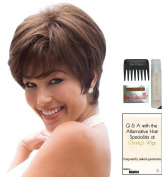 MEGAN by Noriko Wig, 15 Page Christy's Wigs Q & A Booklet, Wig Shampoo, Wig Cap & Wide Tooth Comb - Colour