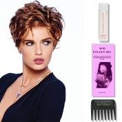 The New Romantic by Raquel Welch Wigs, Wig Galaxy Hairloss Booklet, 60ml Travel Size Wig Shampoo, & Wide Tooth Comb. (Bundle - 4 Items), Colour Chosen