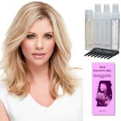 Top Style 30cm by Jon Renau, Jon Renau Luxury Travel Kit, Wig Galaxy Hairloss Booklet, & Wide Tooth Comb. (Bundle - 7 Items), Colour Chosen