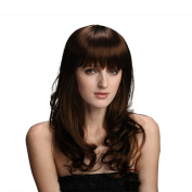 Styler New Fashion Style Long Curly Popular Wig with Straight Bangs for Women