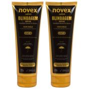 """Novex Salon Blindagem Capilar Treatment Hair Shield Leave-in 210ml / 200g """"Pack of 5.1cm"""