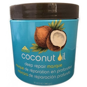 Heaven Coconut Oil Hair Mask Deep Repair Treatment - 350mls or nourishment and repair for you dry, damaged or chemically treated hair.