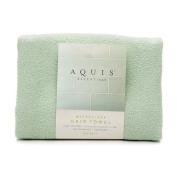Aquis Essentials Microfiber Hair Towel, Celadon 1 ea