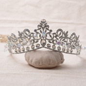 VKFashion Cinderella Tiara, Bridal Tiara, Crystal Wedding Crown, Crystal Bridal Tiara, Style C04