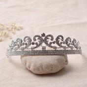 VKFashion Cinderella Tiara, Bridal Tiara, Crystal Wedding Crown, Crystal Bridal Tiara, Style C03