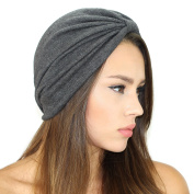 Jersey Sweater Knit Turban Hat