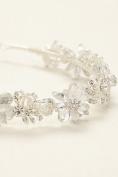 Crystal Floral Headband Style H9092, Crystal