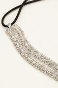 Wavy Two Row Headband Style 37371HW001, Crystal