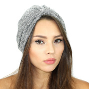 Rib Knit Sweater Turban Hat