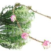 Mini Paper Rose Flower BOHO Garlands