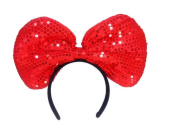 Sequin Big Bow Headband
