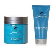 Bundle -2 Items : Johnny B Hair Gel, 240ml & Johnny B Mode Styling Gel Medium Hold, 470ml