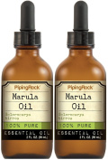Marula Oil 100% Pure ( Passionfruit seed oil) 2 Bottles x 60ml Liquid