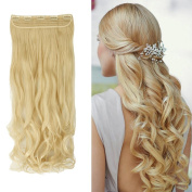 Sexybaby High Synthetic Fibre Clip-in Hairpiece Extension 1 Piece 5 Clips
