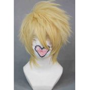 RightOn Short Layered Cosplay Costume Party Wigs