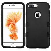 MyBat TUFF Hybrid Protector Cover for iPhone 7 Plus - Black/Black