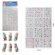 New 3D Christmas Nail Decal Sticker Decoration